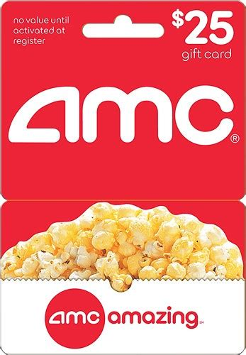 Amc Theater Gift Card - amc theatres 25 gift card multi amc gift card 25 best buy