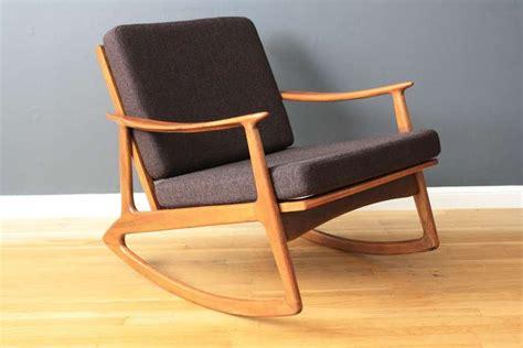 midcentury modern rocking chair mid century modern rocking chair at 1stdibs