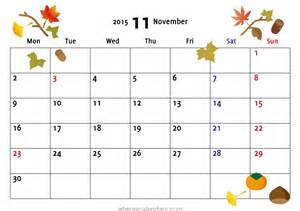 November Calendar Template by November 2015 Calendar Templates Calendar 2017 2018