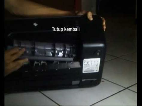 Printer Hp Kertas A3 cara memperbaiki kertas nyangkut pada printer hp f2410