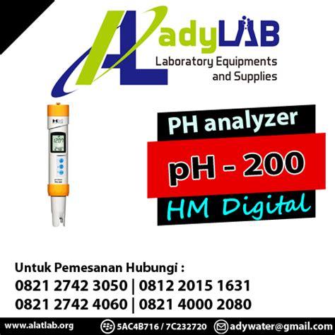 Tds Meter Bandung 0821 2742 4060 jual ph meter hm digital