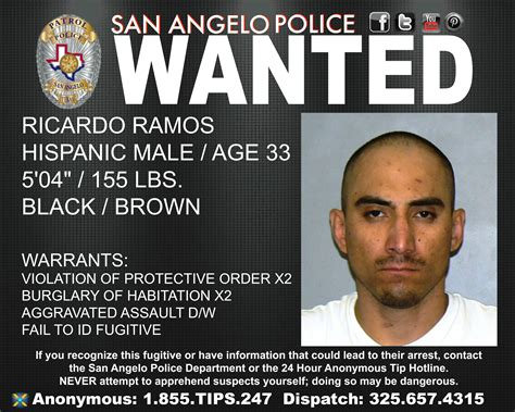 Sapd Warrant Search Seek Info On With Six Warrants