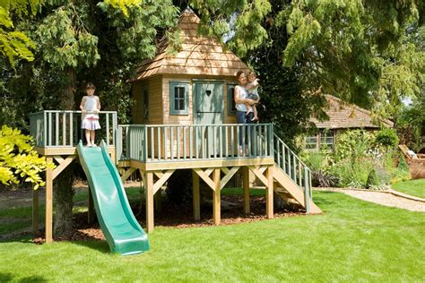 Childrens Treehouses Tree House From The Childrens Childrens Garden Tree House Treehouses The Playhouse