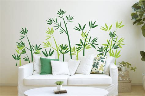 green bamboo forest wall sticker home decorating photo 31853932 fanpop