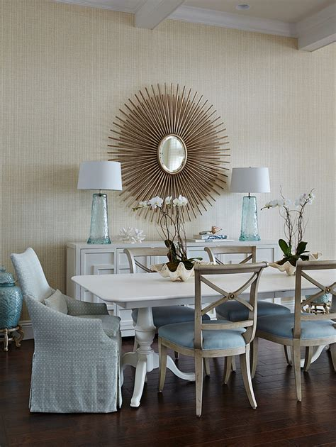 Coastal Dining Room Chairs Florida House With Classic Coastal Interiors Home Bunch Interior Design Ideas