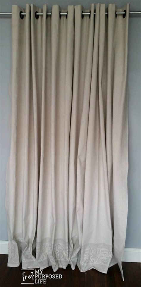 ways to hang drop cloth curtains iod roller sted drop cloth grommet curtains my