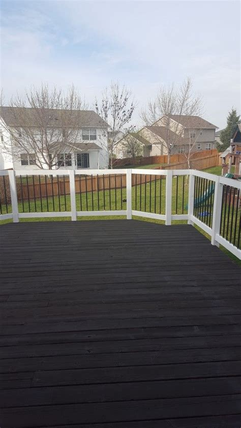 images  home deck  pinterest stains