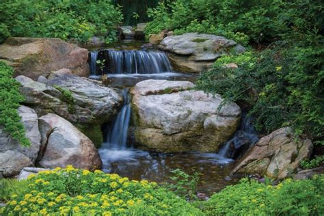 aquascape pondless waterfall kit aquascape diy backyard waterfall kit