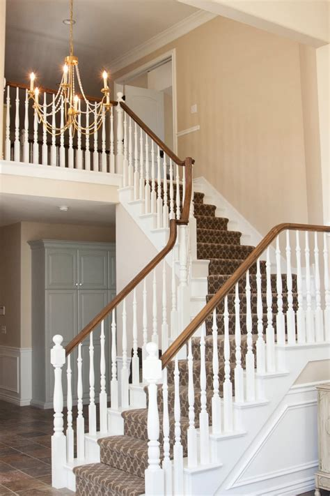 Wooden Banisters And Handrails by Stair Banisters And Railings Newsonair Org