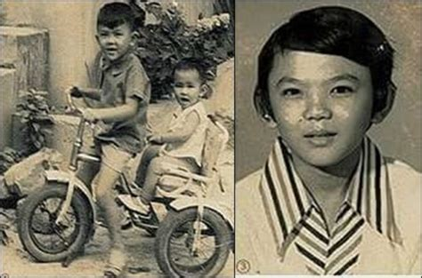 ahok prabowo little ahok old photos of the governor show he was not to