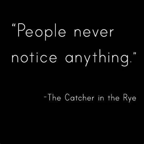 catcher in the rye sadness theme hold on depression and rye on pinterest