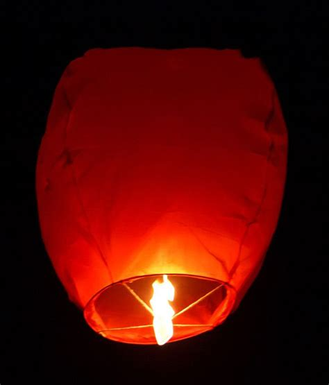 How To Make A Sky Lantern Out Of Paper - pindia 5 pc diwali sky lantern buy pindia 5 pc