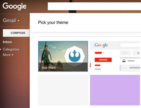 themes for google inbox star wars gmail wallpaper wallpapersafari