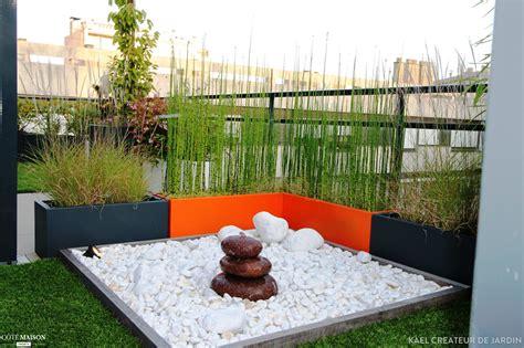 Toit Terrasse Jardin by Am 233 Nagement D Un Espace D 233 Tente Sur Un Toit Terrasse Kael