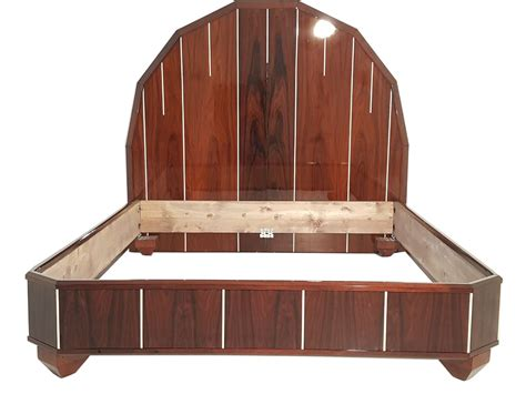 art deco bed art deco bed made of palisander wood original antique