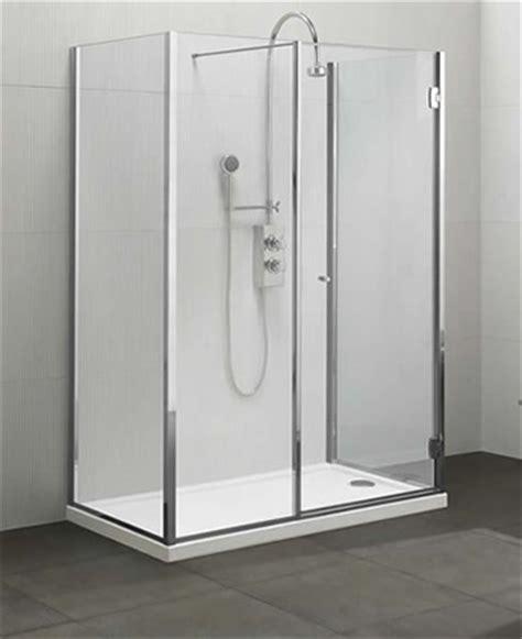doccia tre lati cabina doccia a 3 lati