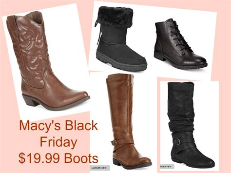 macy s black friday boots only 19 99