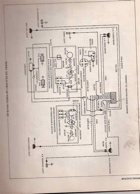 allis chalmers 200 wiring diagram 200 cab wiring allischalmers forum