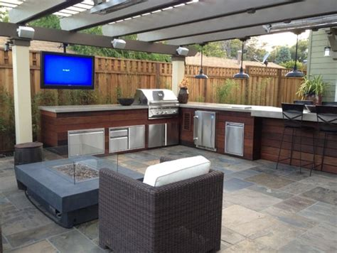 backyard tv outdoor kitchen trends 9 hot ideas for your backyard