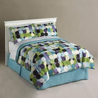 essential home optic dot complete bed set home bed