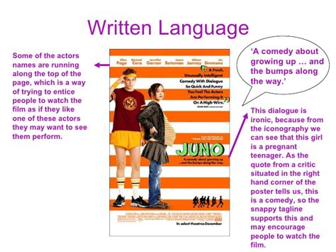 film comedy conventions codes and conventions of film posters