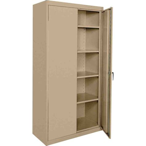 Metal Kitchen Storage Cabinets Sandusky Metal Storage Cabinet Decor Ideasdecor Ideas