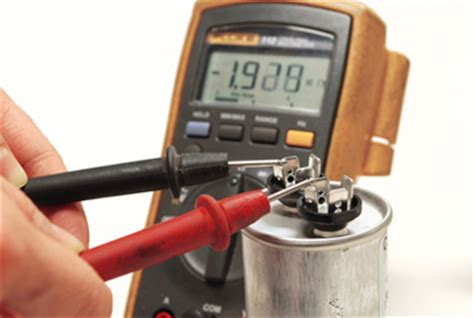 how to test bad capacitor with digital multimeter test capacitor problems learn to see if your capacitor is working