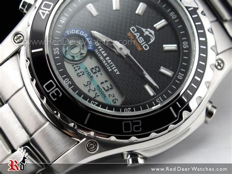 buy casio duro200 tide and moon graph digital analog