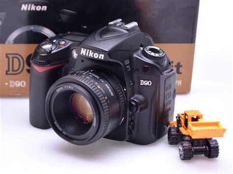 Jual Lensa Fix Nikon Bekas jual kamera dslr nikon d90 lensa fix 50mm bekas jual