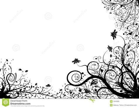 imagenes para hojas blancas elemento floral para el dise 241 o vector foto de archivo