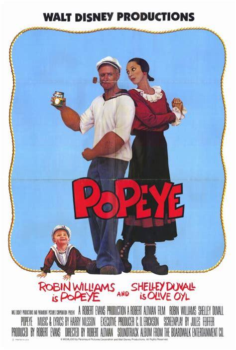 popeye movie popeye movie posters from movie poster shop