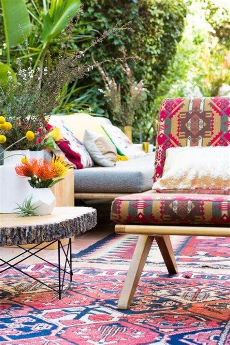 beautiful bohemian patio designs digsdigs