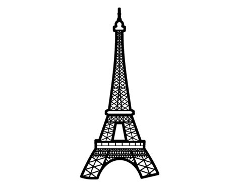 eiffel tower color eiffel tower coloring page coloringcrew