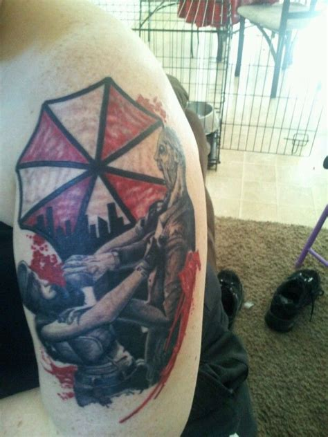 resident evil tattoo my style pinterest evil