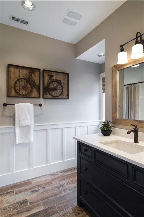 wainscoting bathroom vanity best 25 wainscoting bathroom ideas on pinterest half
