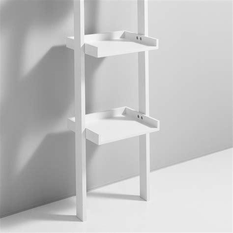 librerie da muro librerie da parete a colonna bergen in legno bianco 35 x