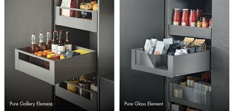 Blum Kitchen Design by Blum Antaro Larder Drawers