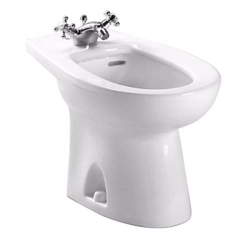 bidet home depot toto piedmont elongated bidet for deck mount faucet in
