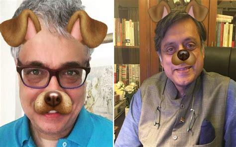 modis dog filter meme derek obrien tharoor don