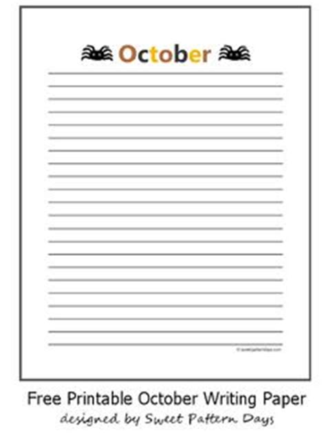 october writing paper printable turtle writing paper education ideas