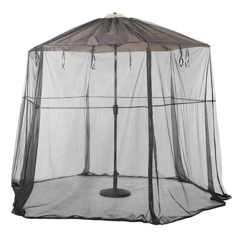 classic accessories patio umbrella insect net canopy 55