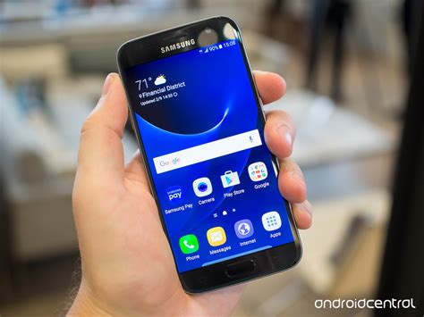 Samsung Galaxy S7 Flat Black here are all four galaxy s7 and s7 edge colors android