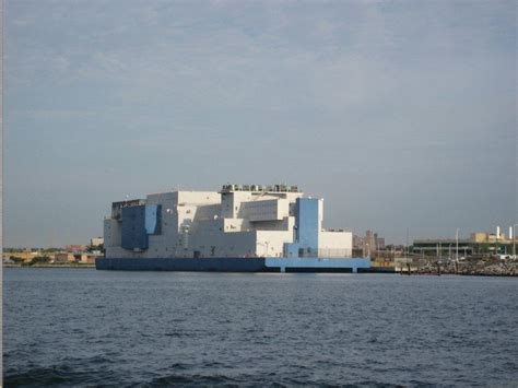 rikers island boat vernon c bain floating correctional center an extension