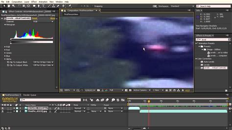 color correction after effects after effects top tip color correction to match footage