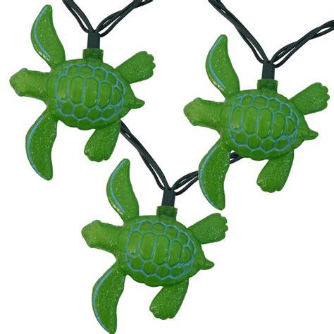 tropical sea turtle novelty lights 10 lights
