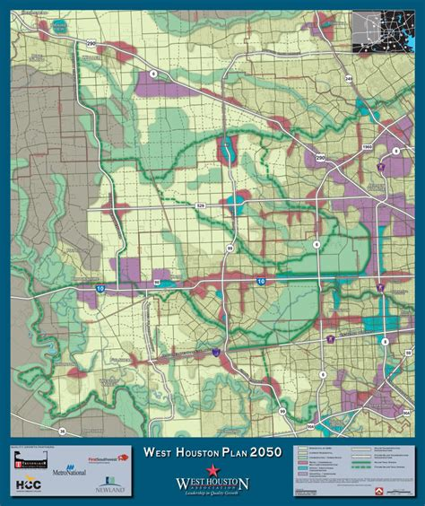 west houston plan 2050 land use scenario map 171 west