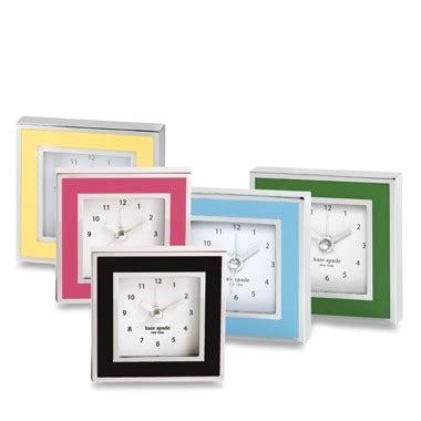 kate spade desk clock pamela copeman 187 pamela s posh picks clocks