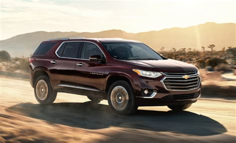 chevrolet traverse gas mileage colors redesign