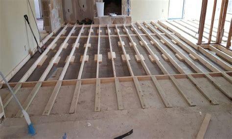 Raising a 1960s Sunken Living Room Floor   Pro Remodeler