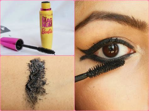 Maybelline Mascara Berbie not for me maybelline new york the magnum mascara